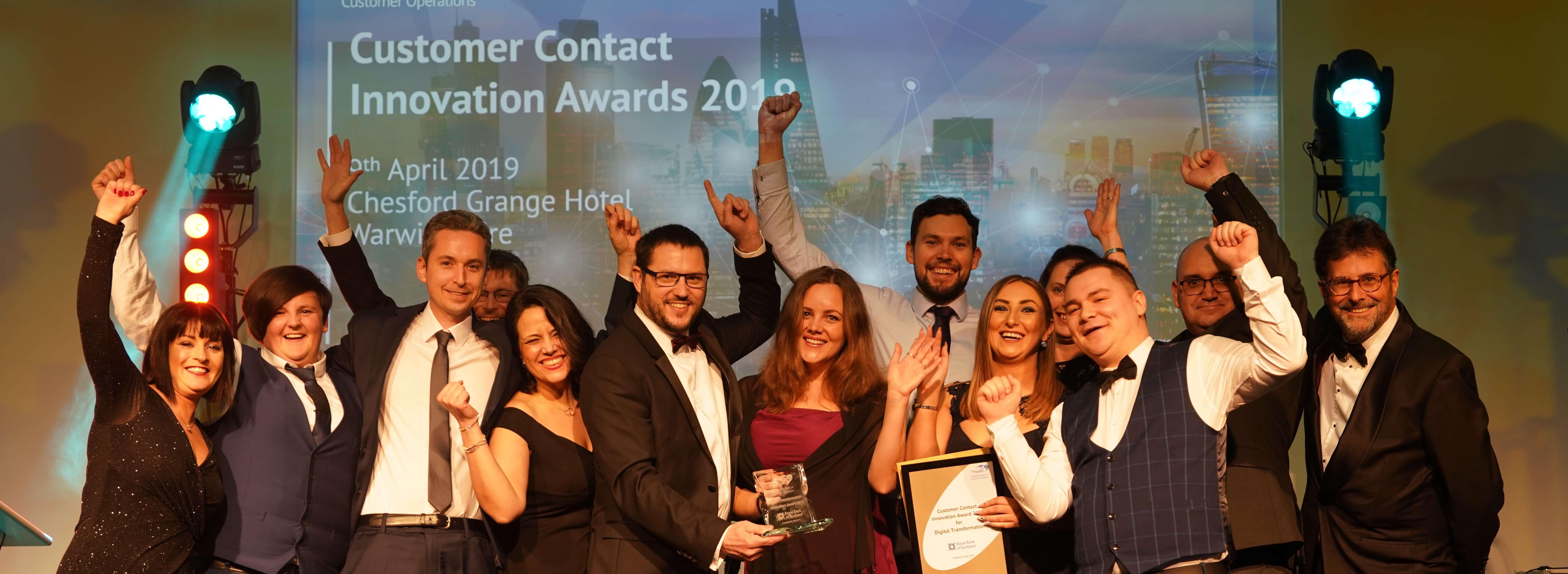 Vizolution and RBS Win at Customer Contact Innovation Awards