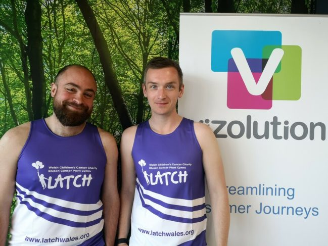 Vizolution Runners Reach the Finish Line, Meeting Target for Charity