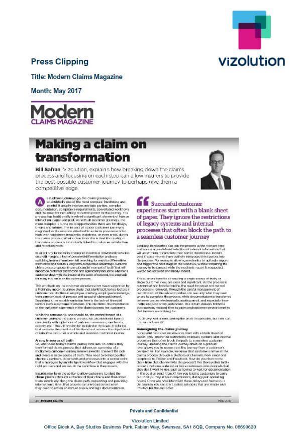 Modern Claims Magazine