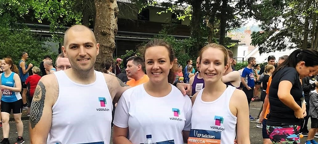 Team Vizolution Completes Swansea Half Marathon for Charity!